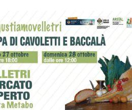 Locandina: Zuppa di cavoletti e baccalà