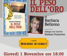 Locandina: Aperitivo in Giallo con Barbara Bellomo