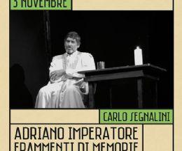 Locandina: Adriano Imperatore. Frammenti di memorie