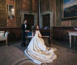 Locandina: Marco Del Greco e Anna Antonova - chitarra classica e piano