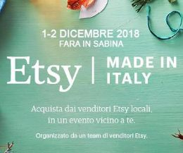 Locandina: Etsy Made in Italy