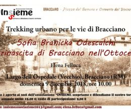 Locandina: Trekking urbano per le vie di Bracciano