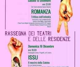 Locandina: Torna la Rassegna dei Teatri e delle Residenze
