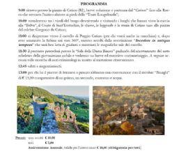 Locandina: Passeggiata ai Borghi di Catino e Poggio Catino