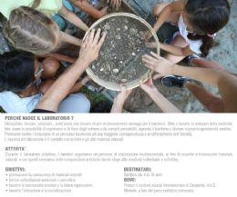 Locandina: Laboratorio ludico-didattico con materiali naturali