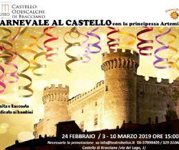 Locandina: Carnevale 2019 al Castello di Bracciano