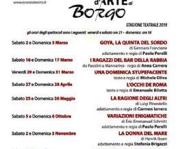 Locandina: Teatro d'Arte al Borgo
