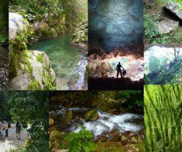 Locandina: Nella gola del Farfa e la Grotta Scura