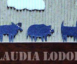 Locandina: Personale di Claudia Lodolo