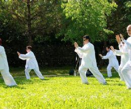 Locandina: Visita guidata con pratica di Tai Chi