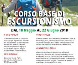 Locandina: Corso base di escursionismo