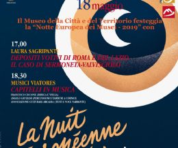 Locandina: La Notte Europea dei Musei 2019 a Cori