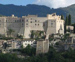 Locandina: Visite gratuite al Castello di Rocca Sinibalda