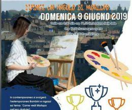 Locandina: Dipingi un angolo di Morlupo. Prima estemporanea Maggiarte