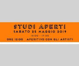 Locandina: Studi aperti e aperitivo con gli artisti