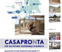 Locandina: CasaproNta: per un futuro sostenibile in Europa