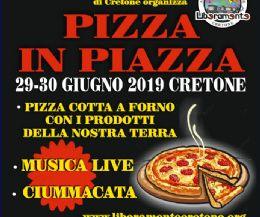 Locandina: Pizza in piazza