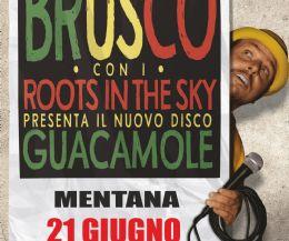 Locandina: Brusco x Roots in the Sky live