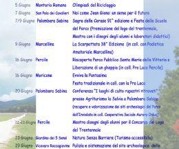 Locandina: Il trentennale del Parco Naturale Regionale dei Monti Lucretil