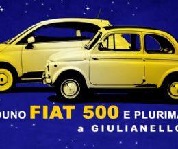 Locandina: A Giulianello il X Raduno Cinquecento e Plurimarche