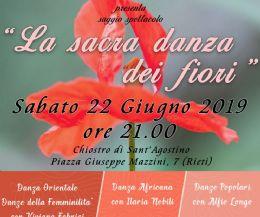 Locandina: La sacra danza dei fiori