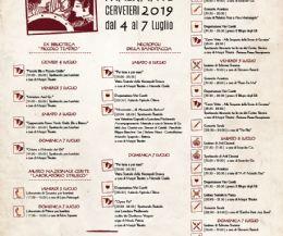 Locandina: Festival del teatro itinetante 2019