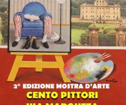 Locandina: La seconda edizione 'Cento Pittori Via Margutta Frascati'