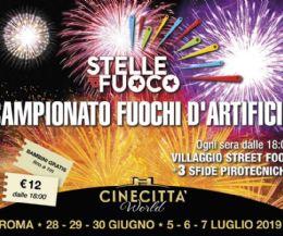 Locandina: Stelle di fuoco. Campionato italiano di fuochi d'artificio