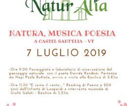 Locandina: Naturalia: Natura, Musica e Poesia