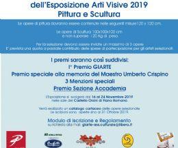Locandina: V Esposizione Arti Visive 2019