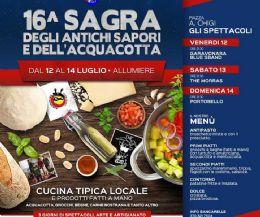 Locandina: 16° Sagra degli Antichi Sapori e dell'Acquacotta