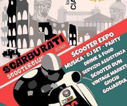 Locandina: 1° Raduno Scarburati Scooter Club Roma
