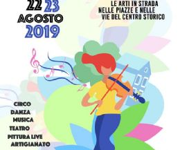 Locandina: Il Busker Festival di Carpineto Romano, XXX edizione