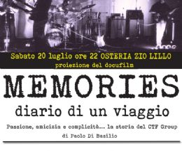 Locandina: Memories, diario di un viaggio