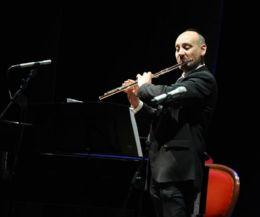 Locandina: Concerto del flautista Sandro Sacco