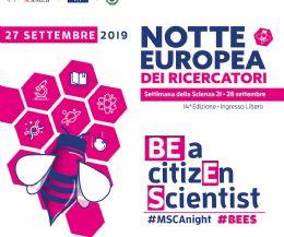 Locandina: Notte Europea dei Ricercatori e della Settimana della Scienza