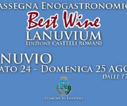 Locandina: Best Wine Lanuvium