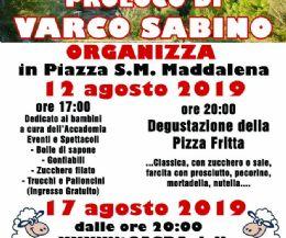 Locandina: Degustazione della Pizza Fritta e 37° Sagra della Bracioletta di Pecora