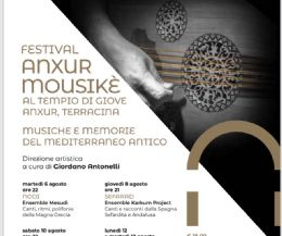 Locandina: Festival Anxur Mousikè