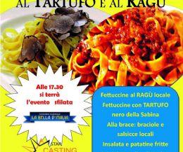 Locandina: Sagra delle Fettuccine al tartufo e al ragù