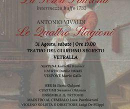 Locandina: Opera Buffa La Serva Padrona di G.B. Pergolesi