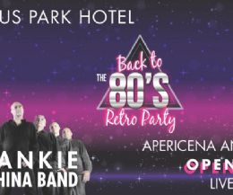 Locandina: Back to the 80's al Domus Park Hotel