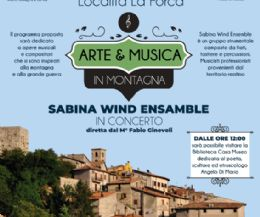 Locandina: Arte & Musica in Montagna