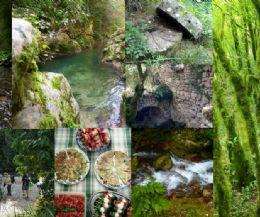 Locandina: Trekking nella Gole del Farfa, Monumento Naturale del Lazio