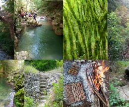 Locandina: Trek nella gola del Farfa (monumento naturale del Lazio) e la Ferratina