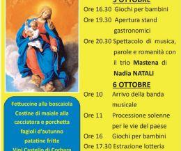 Locandina: Festa della Madonna