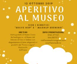 Locandina: Aperitivo al Museo