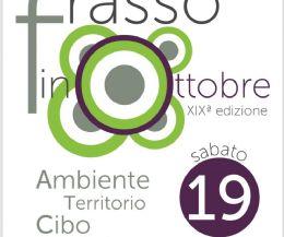 """Locandina: Torna """"Frasso in ottobre"""". Evento green che celebra il riciclo"""
