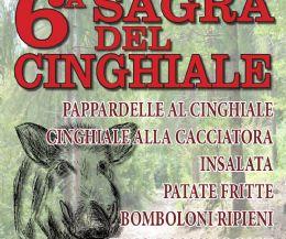 Locandina: 6° SAGRA DEL CINGHIALE