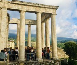 Locandina: Cori, in 1200 alla scoperta delle bellezze della Città d'Arte